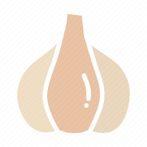 garlic, seasoning, spice, vegetable icon