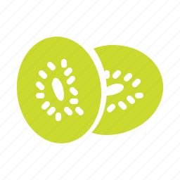 chinese, exotic, fruit, gooseberry, kiwi, kiwifruit icon