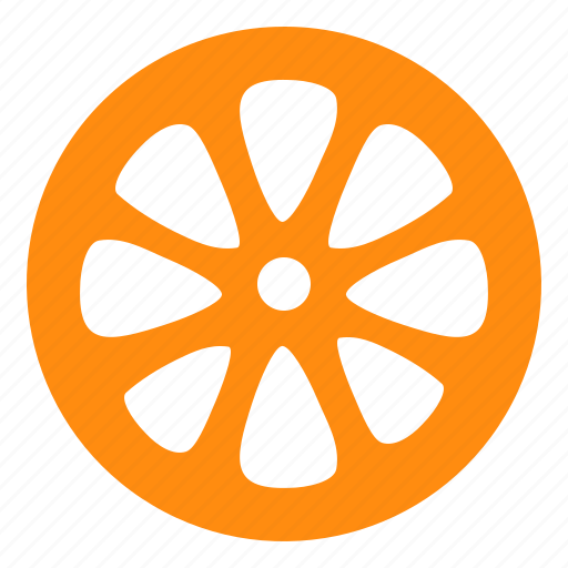 citrus, fruit, orange icon