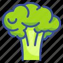 broccoli, food, fruit, organic, vegetarian icon