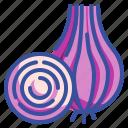 food, onion, organic, vegetable, vegetarian icon