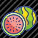 food, fruit, organic, vegetarian, watermelon