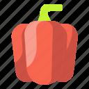 bell, food, organic, pepper, vegetable, vegetarian