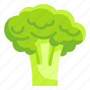 broccoli, food, fruit, organic, vegetarian icon