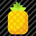 food, fruit, organic, pineapple, vegetarian icon