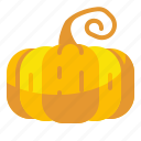 food, organic, pumpkin, vegetable, vegetarian icon