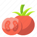 food, organic, tomato, vegetable, vegetarian icon