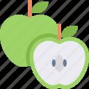apple, food, fruit, green, healthy, organic
