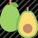 avacado, food, fruit, healthy, organic