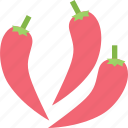 chili, food, healthy, organic, spicy, vegetable icon