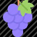 food, fruit, grapes, healthy, organic