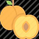 food, fruit, healthy, organic, peach