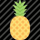 food, fruit, healthy, organic, pineapple