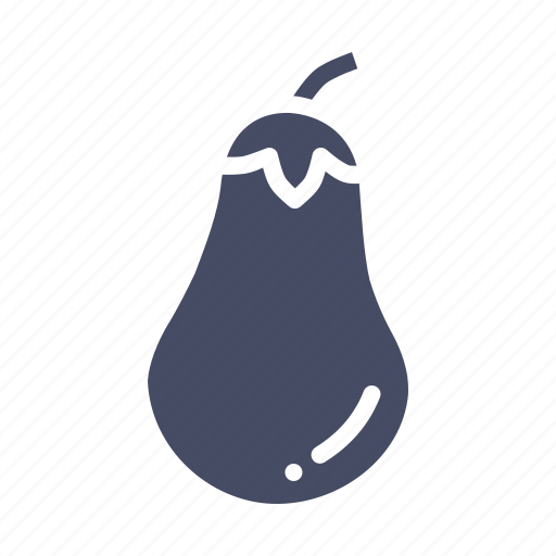 brinjal, eggplant, vegetable icon