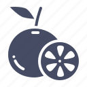 citrus, fruit, fruits, healthy, lemon, lime, orange icon