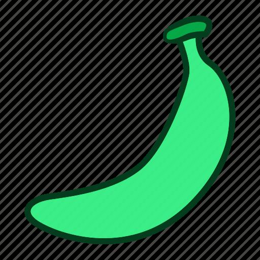 banana, diet, eating, food, fruits, healthy, organic icon