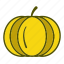 diet, food, organic, pumpkin, vegetables diet icon