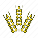 diet, eating, food, grass, healthy, vegetables, wheat icon