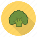 broccoli, food, fresh, healthy, vegetable, veggie icon