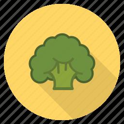 broccoli, food, fresh, healthy, vegetable, veggie icon