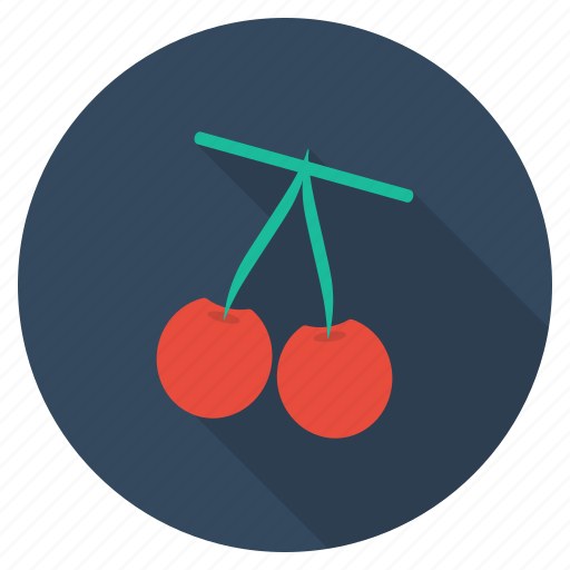 cherries, food, fresh, fruit, healthy, plant, vegetable icon