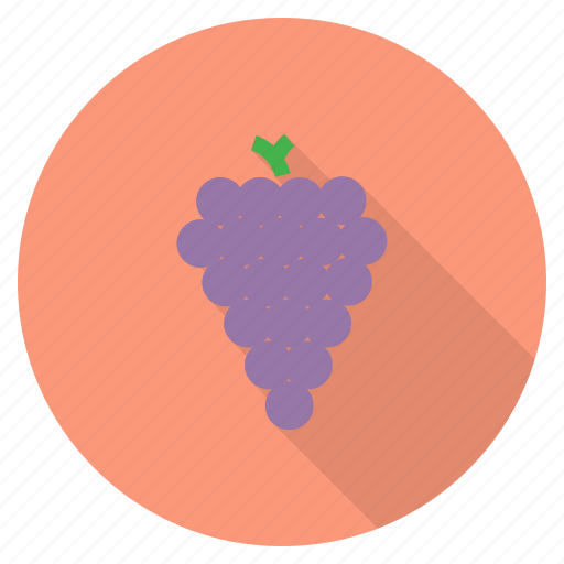 eat, food, fruit, grapes, healthy, wine icon