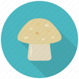 eat, food, healthy, mushroom, plant, vegetable, vitamin d icon