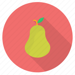 eat, food, fresh, fruit, green, healthy, pear icon