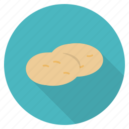 carbs, food, healthy, potato, starch, sweet, vegetable icon