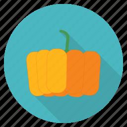 food, fresh, fruit, halloween, healthy, pumpkin, vegetable icon