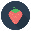 berries, food, fruit, healthy, romance, romantic, strawberry icon