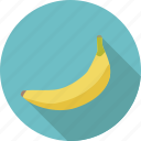 banana, food, fruit, organic icon
