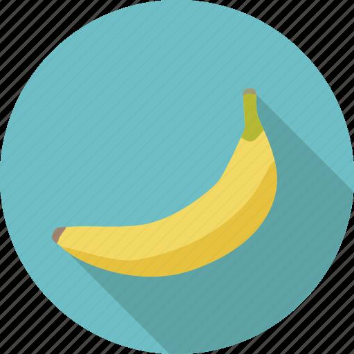 banana, food, fruit, organic icon