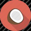 coco, coconut, cocos, food, fruit, milk, nut