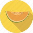 food, fruit, honeymelon, melon, organic icon
