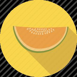 food, fruit, honeymelon, melon, organic icon