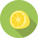 citrus, food, fresh, fruit, lemon, yellow icon