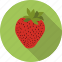 food, strawberry, fruit, berry