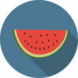 food, fruit, melon, watermelon icon