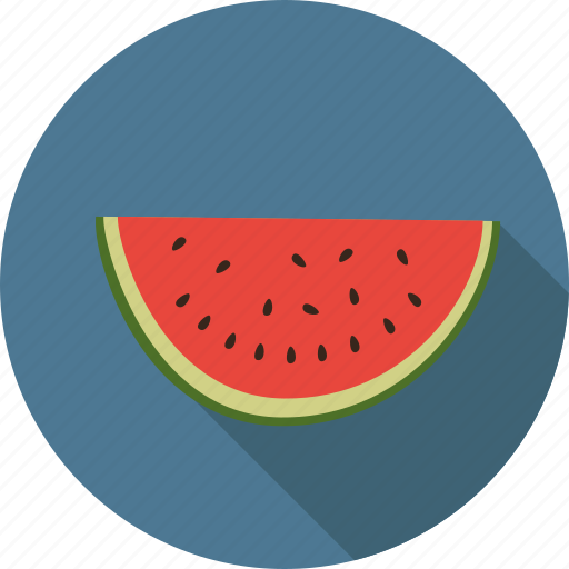 food, fruit, melon, watermelon icon
