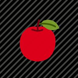 apple, apples, food, fresh apple, fruit, organic icon