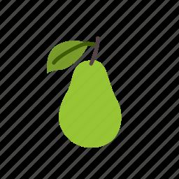 food, fresh pear, fruit, organic, pear, pears icon