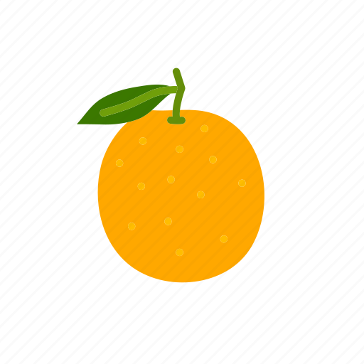 fine orange, food, fruit, orange, oranges, organic icon