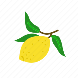 farm, food, fruit, lemon, lemons, organic icon