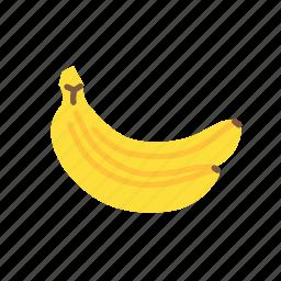 banana, bananas, food, fruit, healthy, organic icon