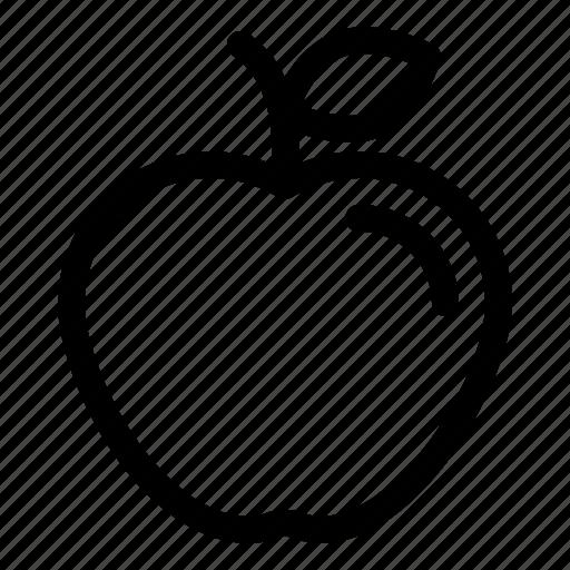 apple, diet, food, fresh, fruit, healthy, sweet icon