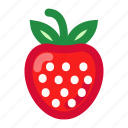 fruits, redstrawberry, strawberry, strawberryfruit, sweet icon
