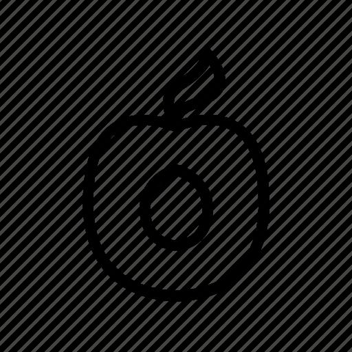Food, fruit, healthy, juice, peach, vegetarian, vitamin icon - Download on Iconfinder