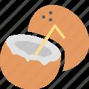 coconut, resort, fruit, relax, food, cooking, kitchen