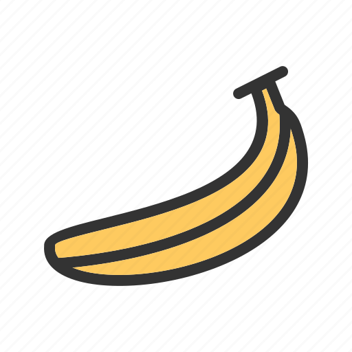 banana, bunch, food, fruit, healthy, vitamin, yellow icon